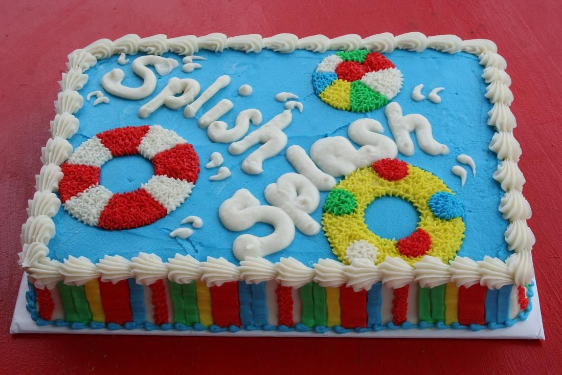 Pool Party Cake Ideas For Birthdays  Pinterest Discover and save creative ideas