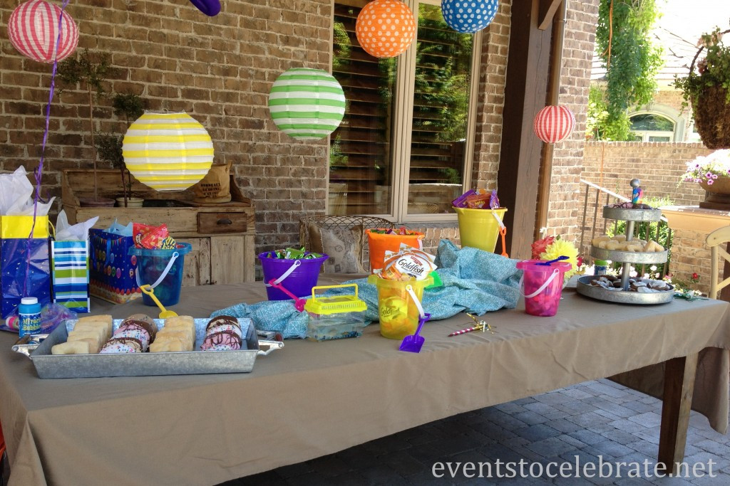 Pool Party Centerpieces Ideas  Pool Party Ideas events to CELEBRATE