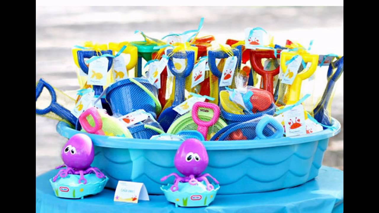 Pool Party Centerpieces Ideas  Kids pool party ideas decorations at home