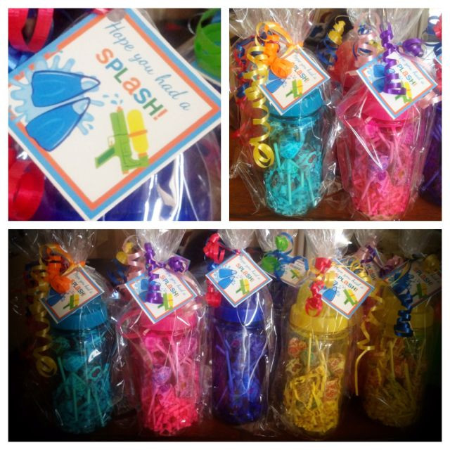 Pool Party Gifts Ideas  Party Favors for Pool Party
