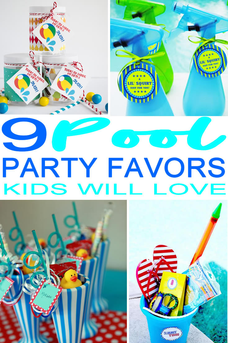 Pool Party Gifts Ideas  9 pletely Awesome Pool Party Favor Ideas