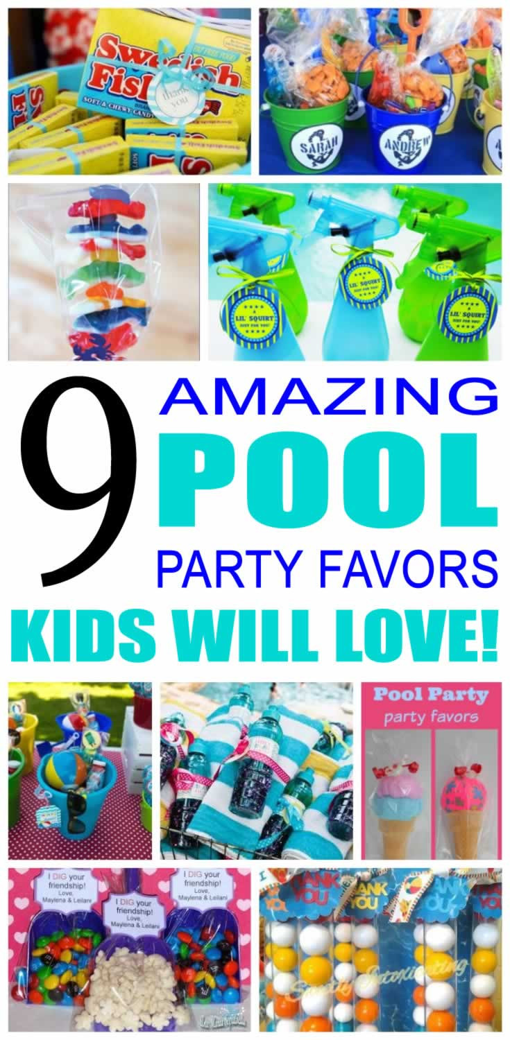 Pool Party Gifts Ideas  Pool Party Favor Ideas