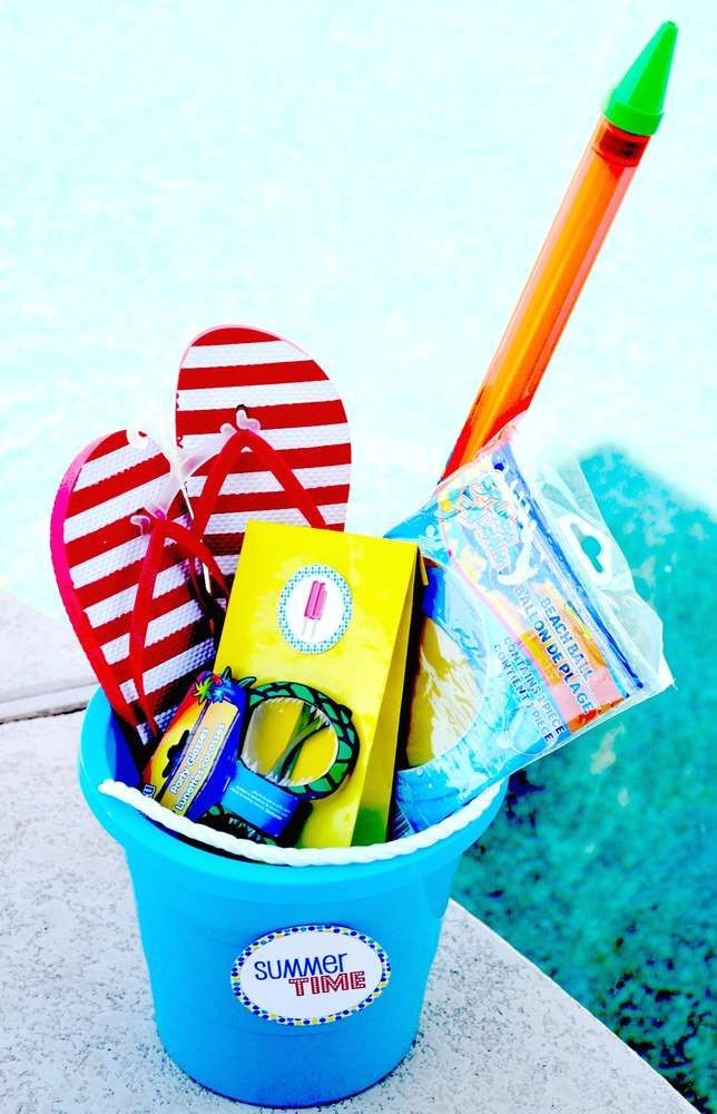 Pool Party Gifts Ideas  40 best images about Pool Party on Pinterest