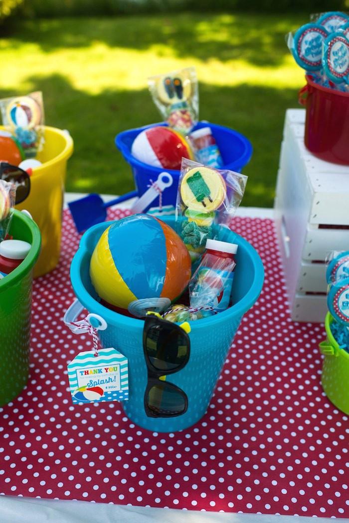 Pool Party Goody Bag Ideas  Splish Splash Pool Party Bash