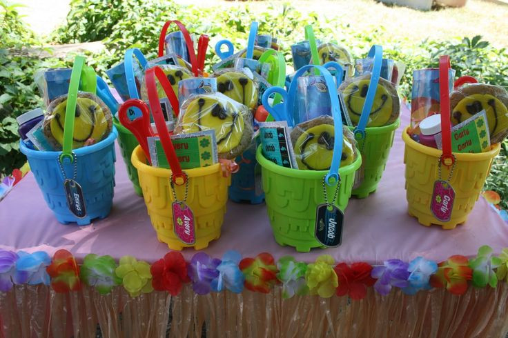 Pool Party Goody Bag Ideas  images of creative goody bags Google Search