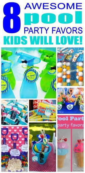 Pool Party Goody Bag Ideas  25 best ideas about Swim party favors on Pinterest