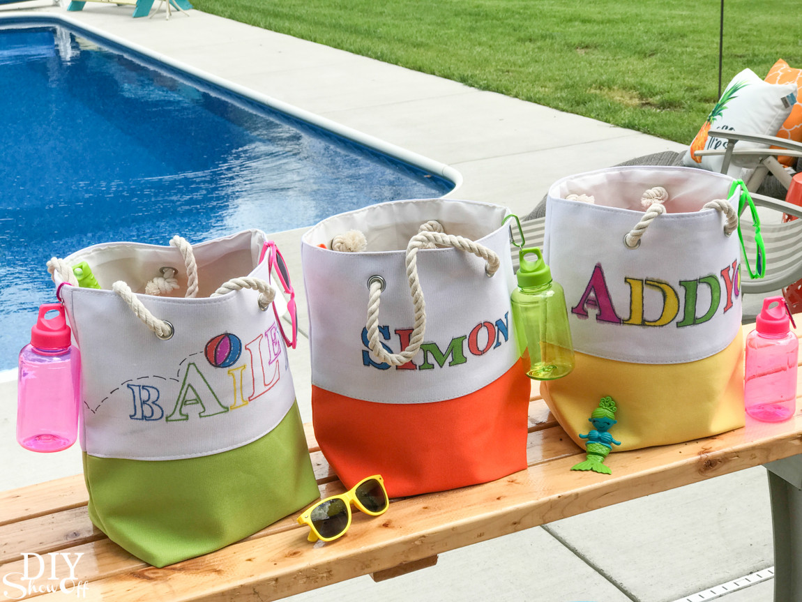 Pool Party Goody Bag Ideas  DIY Holiday and Seasonal Ideas and TutorialsDIY Show f