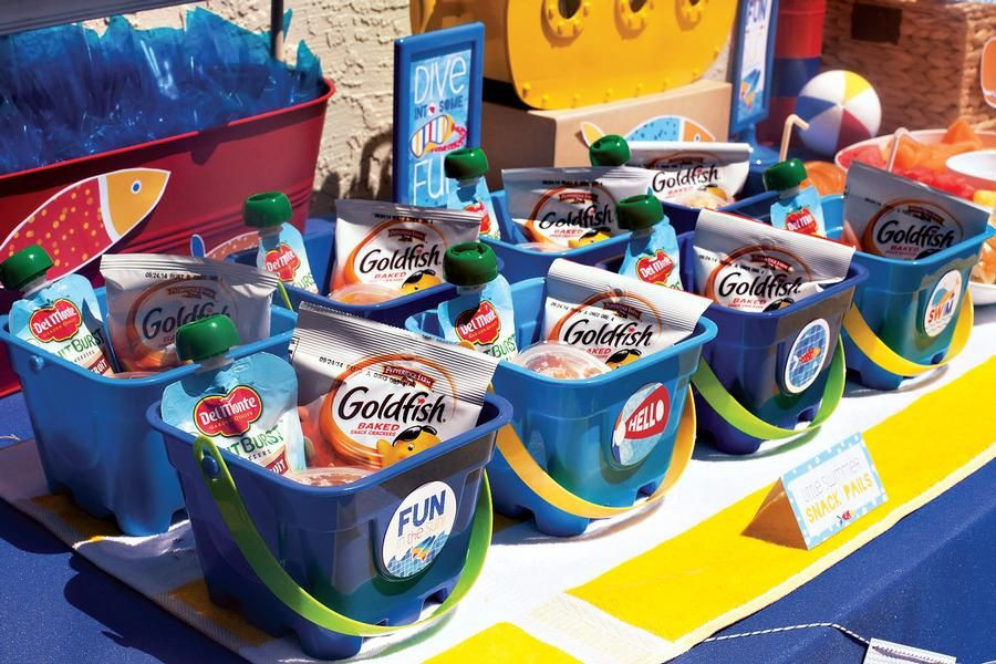 Pool Party Goody Bag Ideas  kids pool party t bags Kid Party Ideas