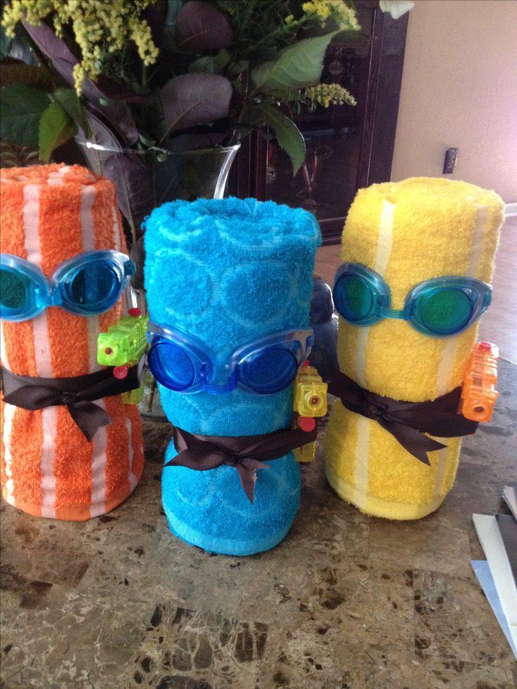 Pool Party Goody Bag Ideas  Best 20 Swim party favors ideas on Pinterest
