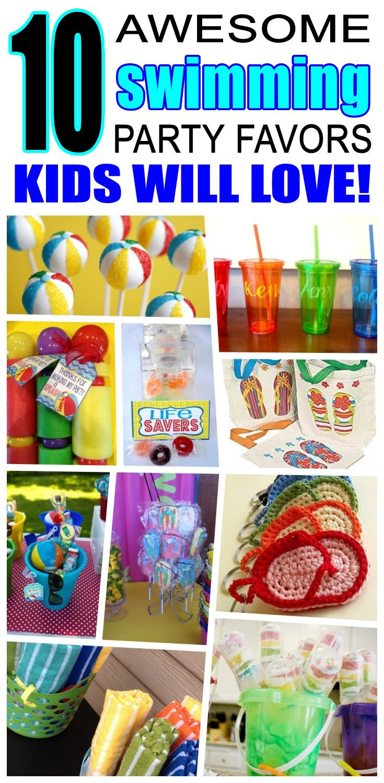 Pool Party Goody Bag Ideas  Best 25 Swim party favors ideas on Pinterest