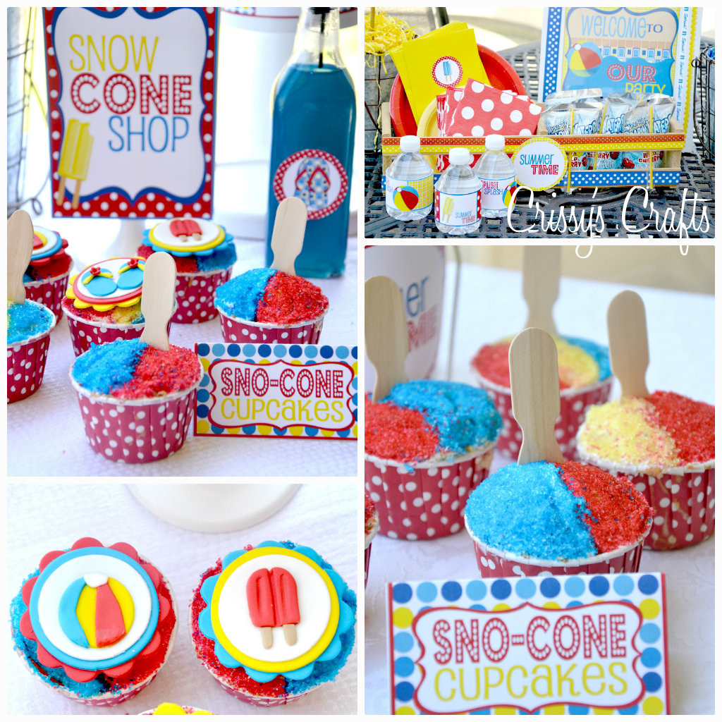 Pool Party Ideas  Crissy s Crafts School s Out SPLISH SPLASH Pool Party
