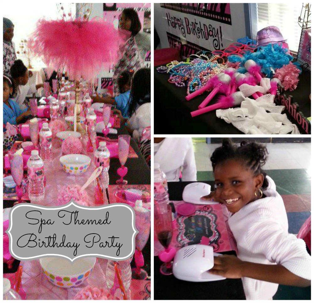 Pool Party Ideas For 8 Year Olds  Spa Birthday Party