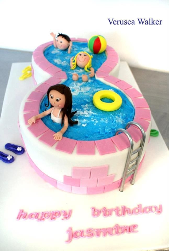 Pool Party Ideas For 8 Year Olds  104 best images about Girl s Pool Party 11 Year Old on