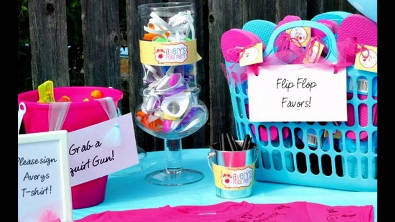 Pool Party Ideas For 8 Year Olds  Amazing Pool party ideas for kids