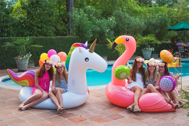 Pool Party Ideas For Girls  Pool Party Ideas Via Blossom