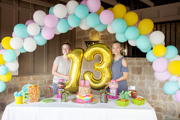 Pool Party Ideas For Girls  13th Birthday Surprise Pool Party