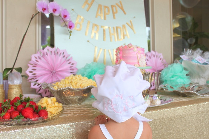 Pool Party Ideas For Girls  Kara s Party Ideas Under the Sea Birthday Pool Party