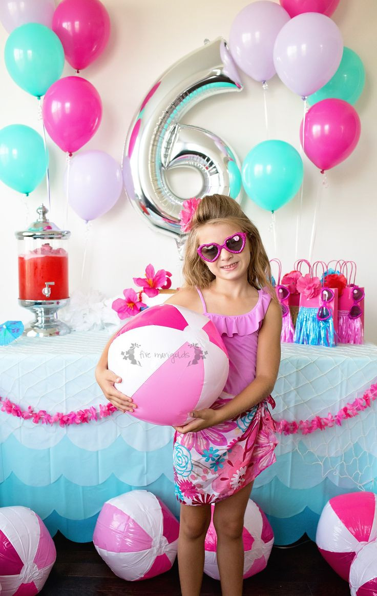 Pool Party Ideas For Girls  Best 25 Pool party birthday ideas on Pinterest