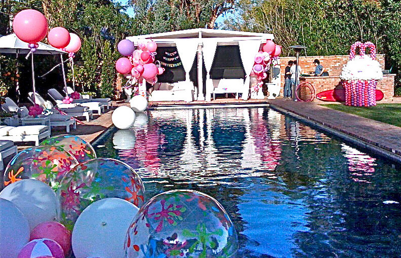 Pool Party Ideas For Girls  Sweet Sixteen Pool Party Ideas