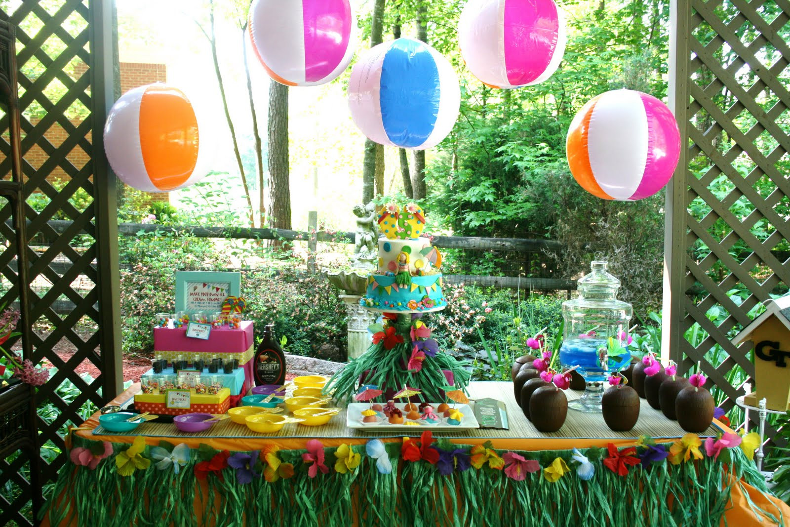 Pool Party Ideas For Toddlers  And Everything Sweet Bailey s Pool Party