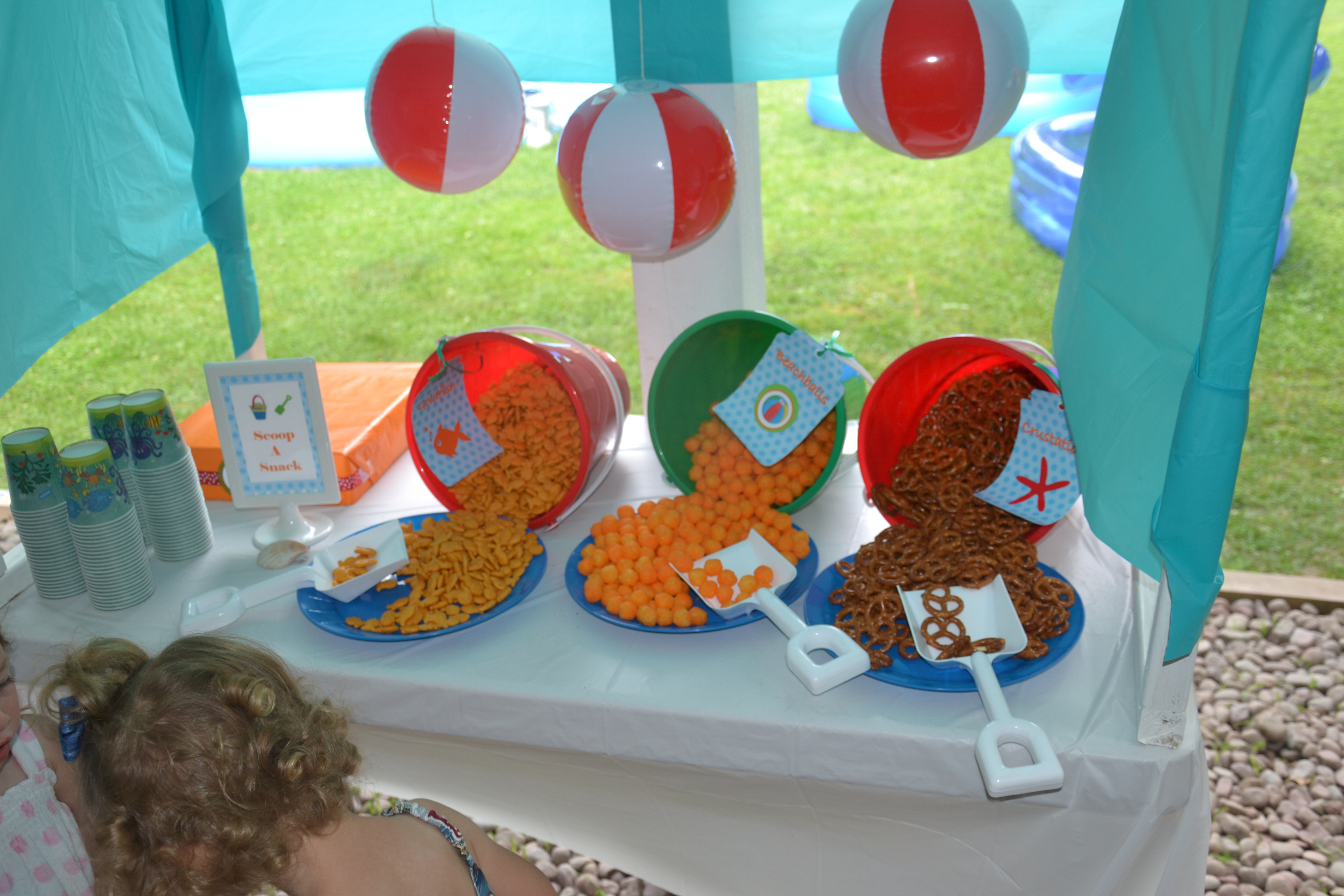 Pool Party Ideas For Toddlers  Party on a Bud  Ideas for Serving Summer Snacks
