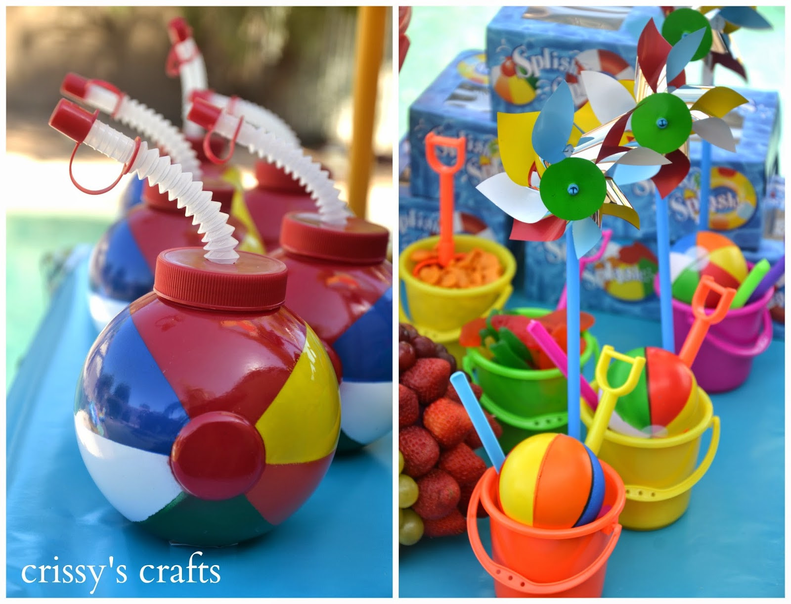 Pool Party Ideas  Crissy s Crafts Pool Party Summer 2014