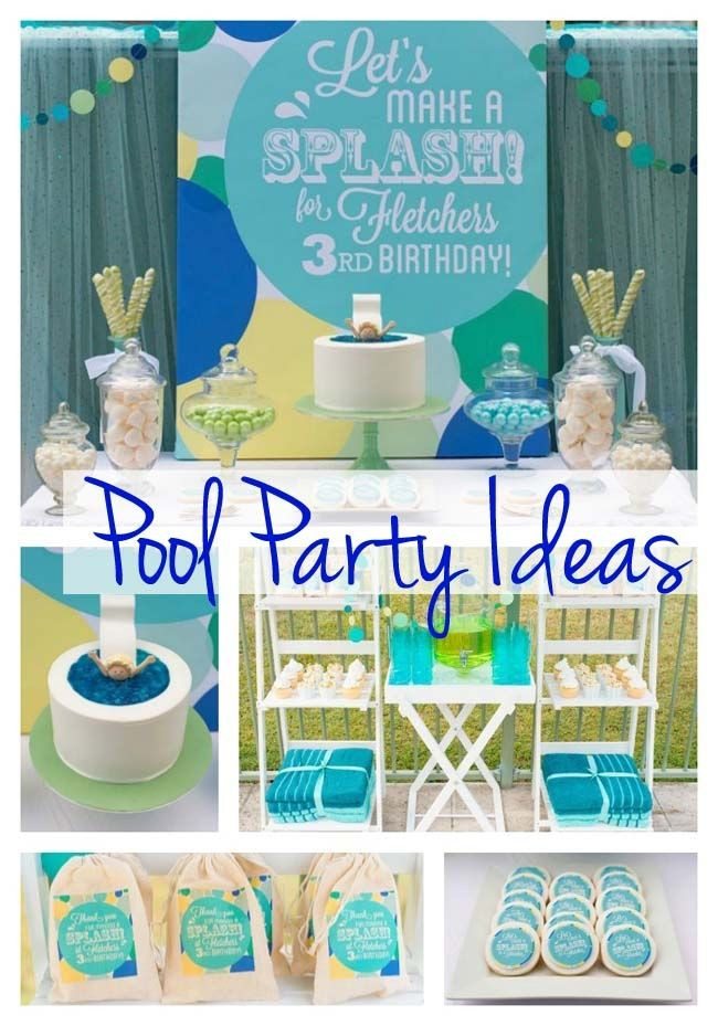 Pool Party Invitations Ideas  Best 25 Pool parties ideas on Pinterest