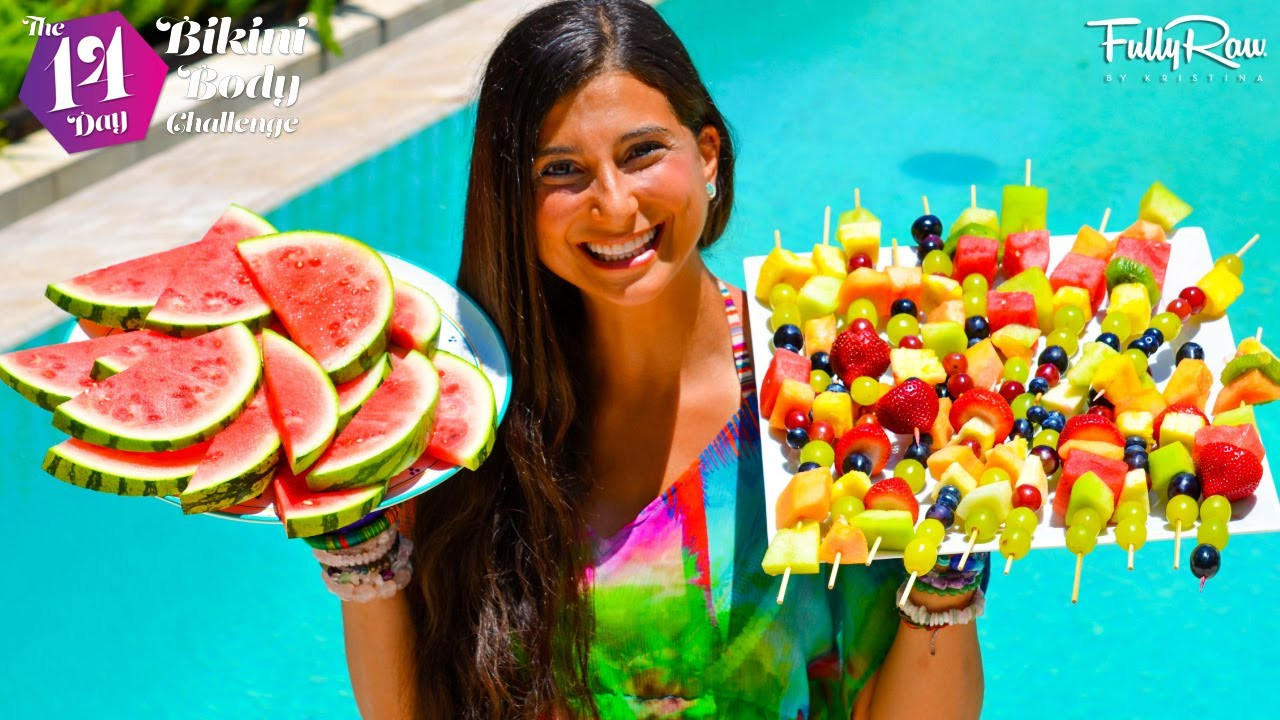 Pool Party Snack Ideas  FULLYRAW POOL PARTY SNACK IDEAS