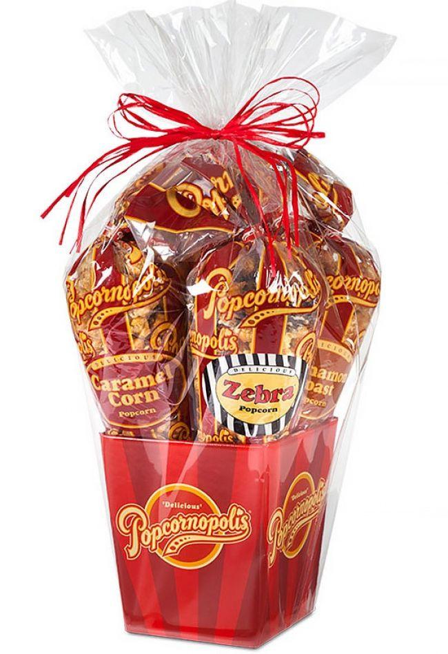 Popcorn Gift Baskets Ideas  1000 ideas about Popcorn Gift Baskets on Pinterest