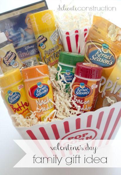 Popcorn Gift Baskets Ideas  511 best Gift Baskets images on Pinterest