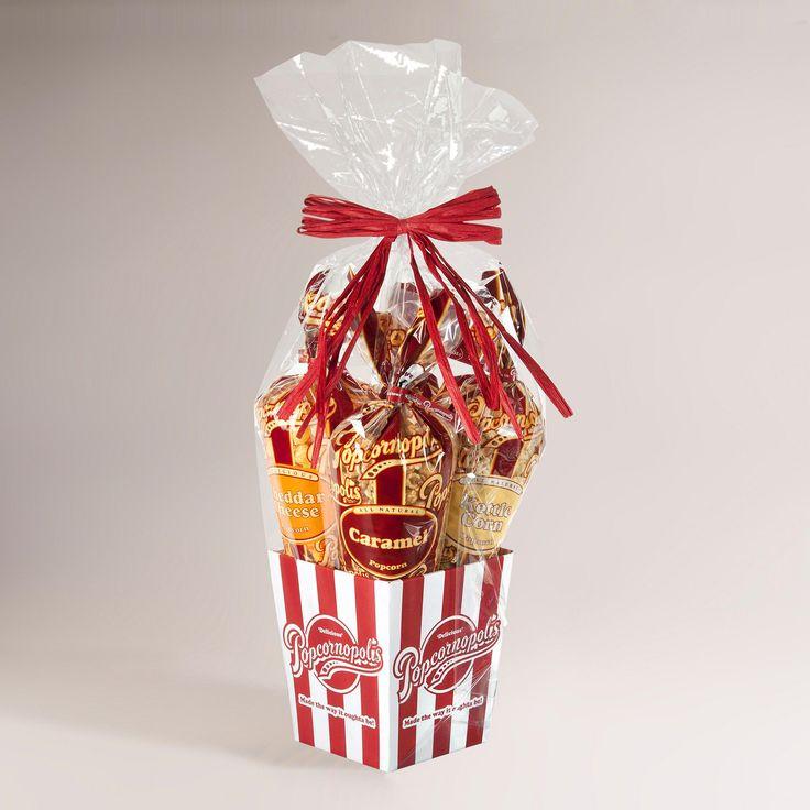 Popcorn Gift Baskets Ideas  Best 25 Popcorn t ideas on Pinterest