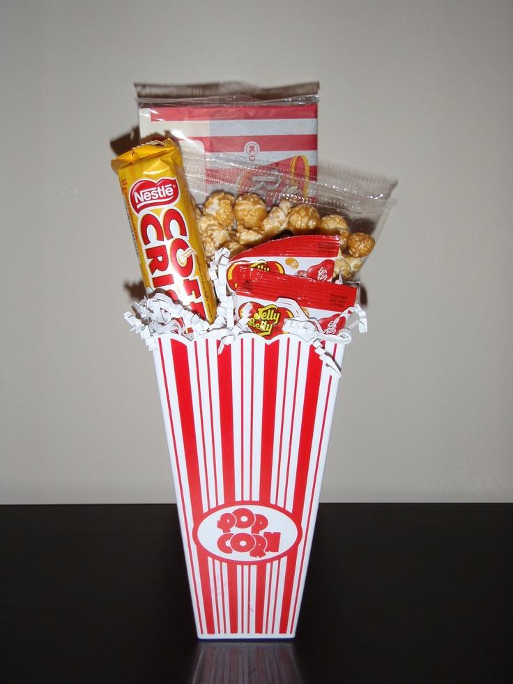 Popcorn Gift Baskets Ideas  7 best Popcorn Basket images on Pinterest
