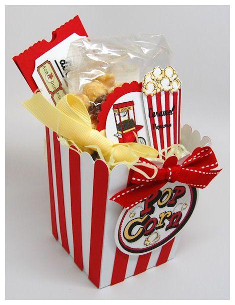 Popcorn Gift Baskets Ideas  Best 25 Popcorn t baskets ideas on Pinterest