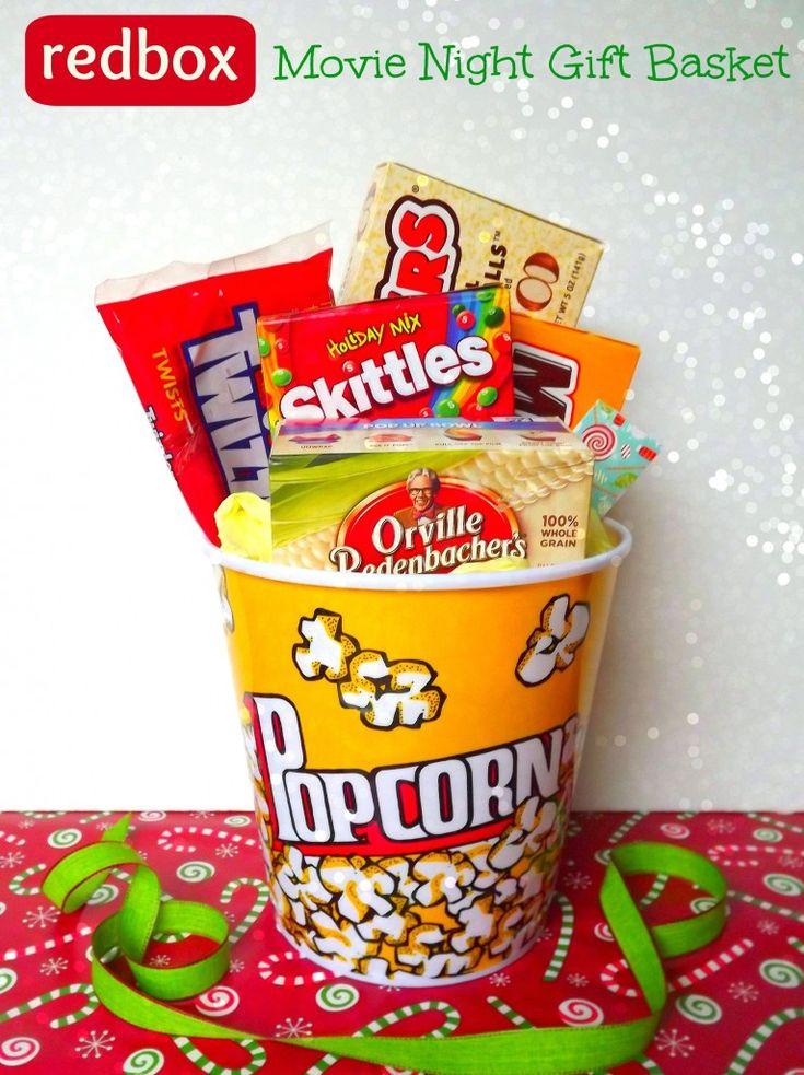 Popcorn Gift Baskets Ideas  25 best ideas about Popcorn Gift Baskets on Pinterest