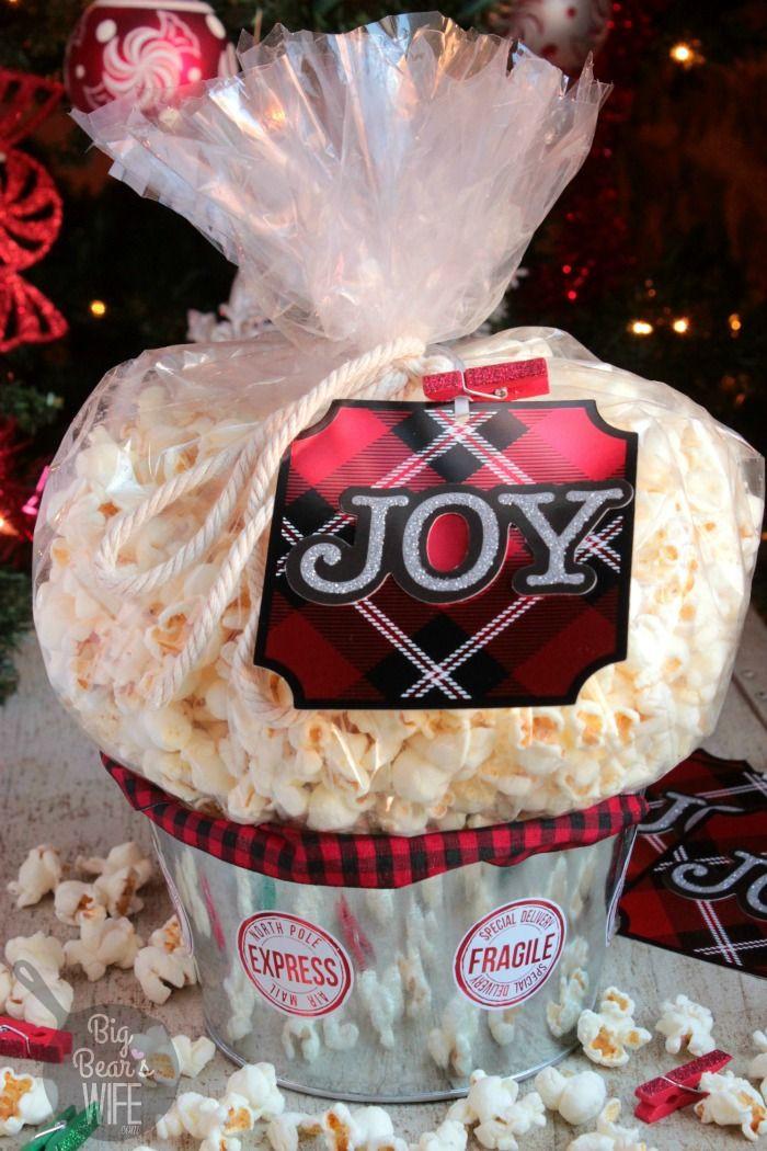 Popcorn Gift Baskets Ideas  25 best ideas about Popcorn t on Pinterest