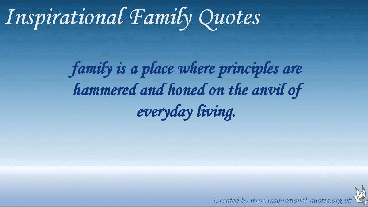 Positive Family Quotes  Inspirational Family Quotes
