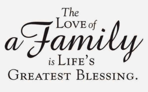 Positive Family Quotes  For Love of Family