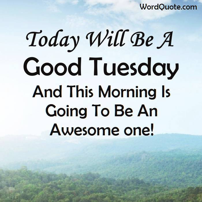 Positive Tuesday Quotes  Happy Tuesday Quotes And Sayings Word Quote