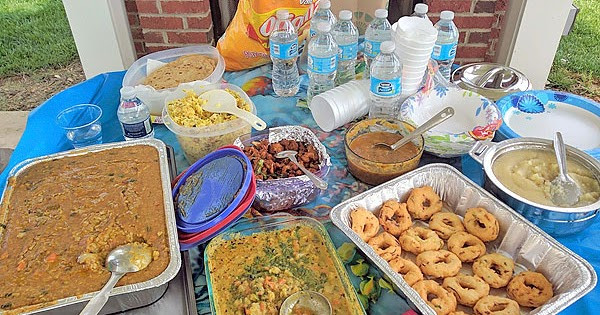 Potluck Dinner Party Ideas  Indian Potluck Party Recipes Ideas Ve arian Potluck