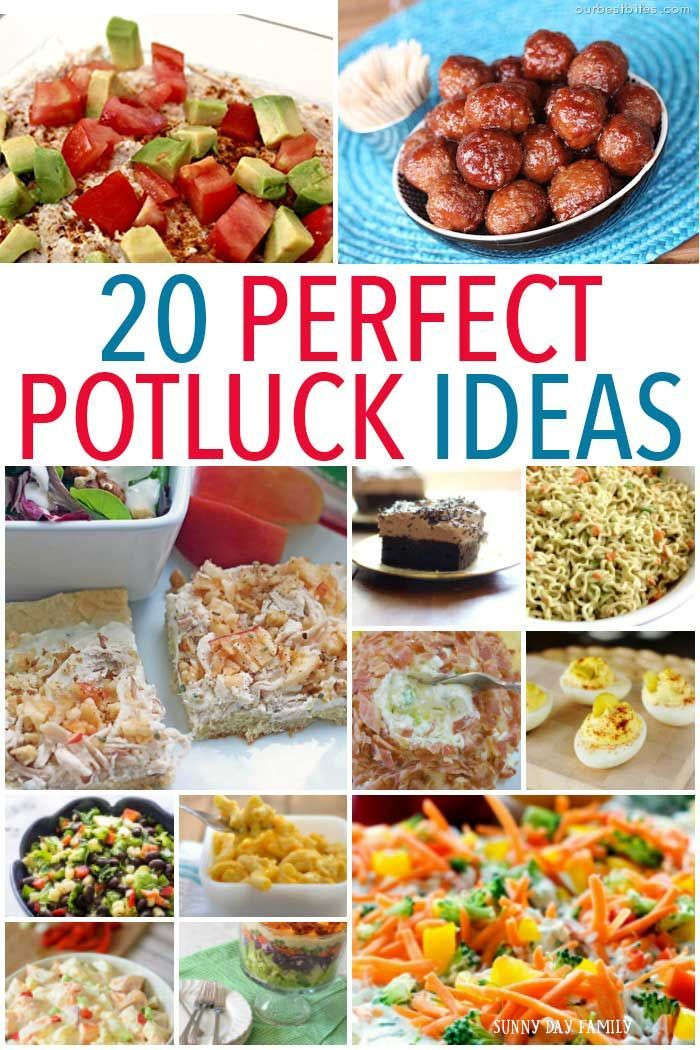 Potluck Dinner Party Ideas  20 Perfect Potluck Ideas