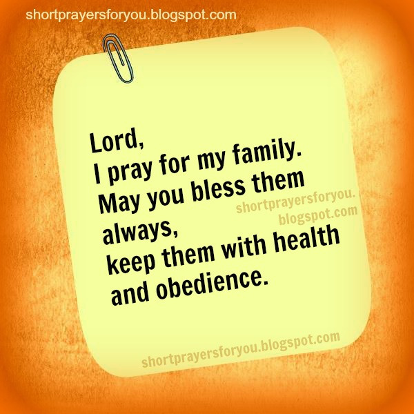 Prayers For My Family Quotes  Family Prayer Quotes QuotesGram