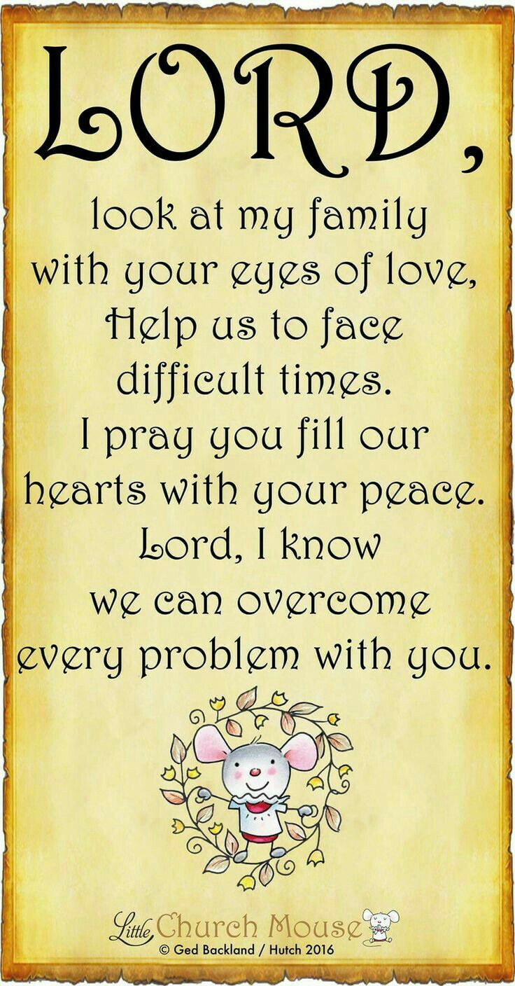 Prayers For My Family Quotes  17 Best Family Bible Quotes on Pinterest
