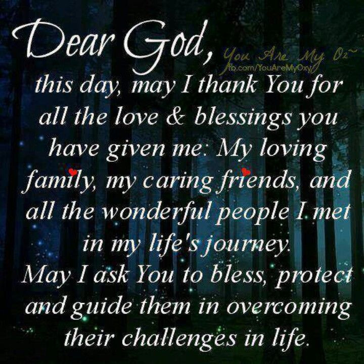 Prayers For My Family Quotes  17 Best ideas about Thank You Friend on Pinterest