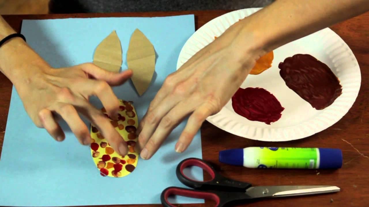 Preschool Arts And Craft  Thanksgiving Arts & Crafts Activities for Preschool Aged