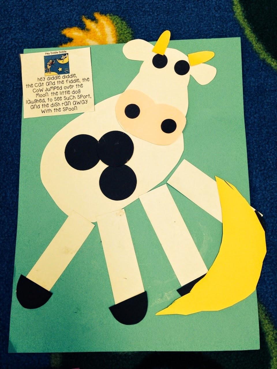 Preschool Arts And Craft  Preschool Wonders Nursery Rhymes Second Verse