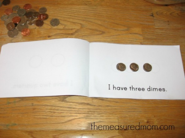 Preschool Money Crafts  Money math for preschool kindergarten and first grade