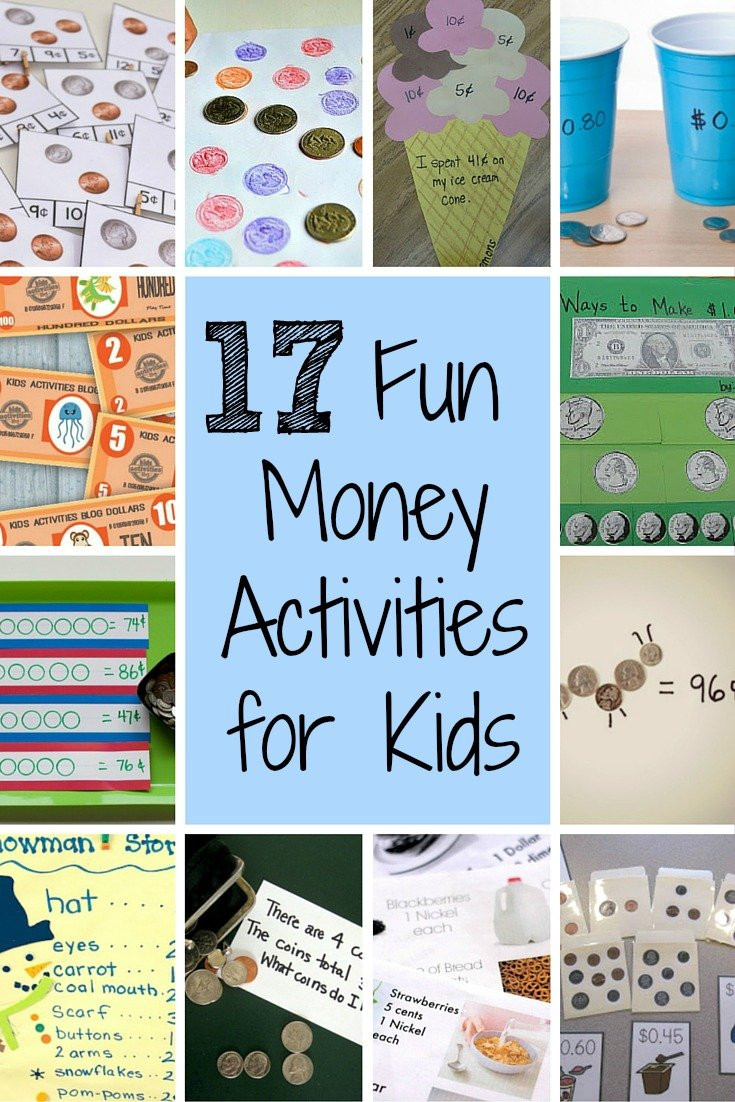 Preschool Money Crafts  17 Fun Money Activities to Help Kids Understand Coins Values