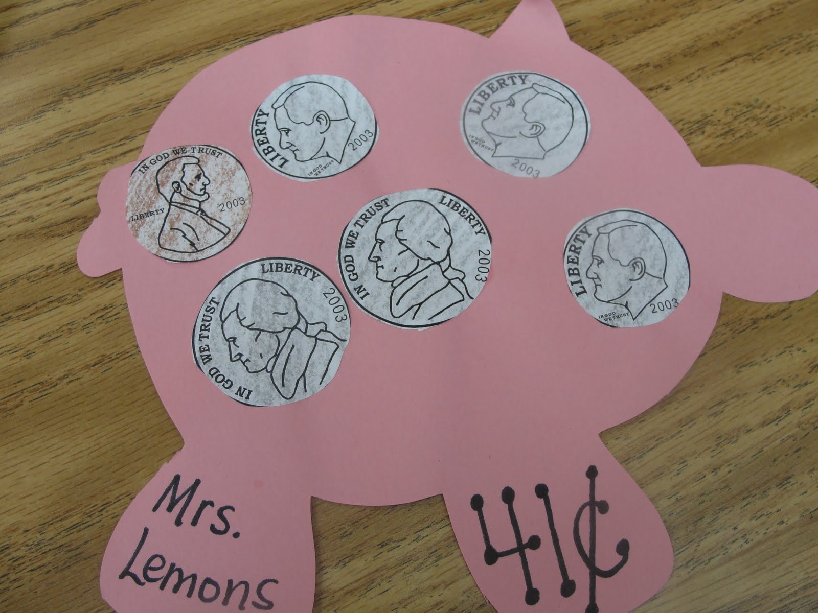 Preschool Money Crafts  Step into 2nd Grade with Mrs Lemons Show me the MONEY