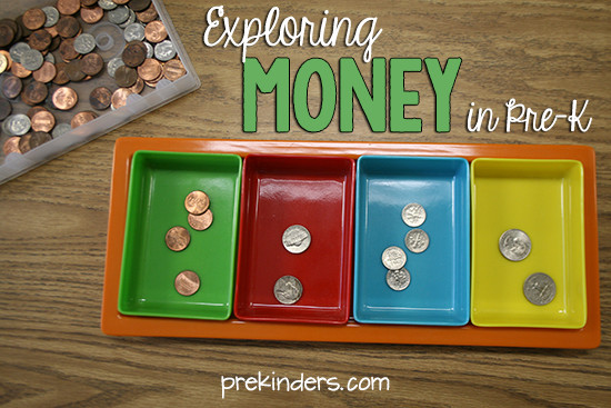 Preschool Money Crafts  Exploring Money in Pre K PreKinders