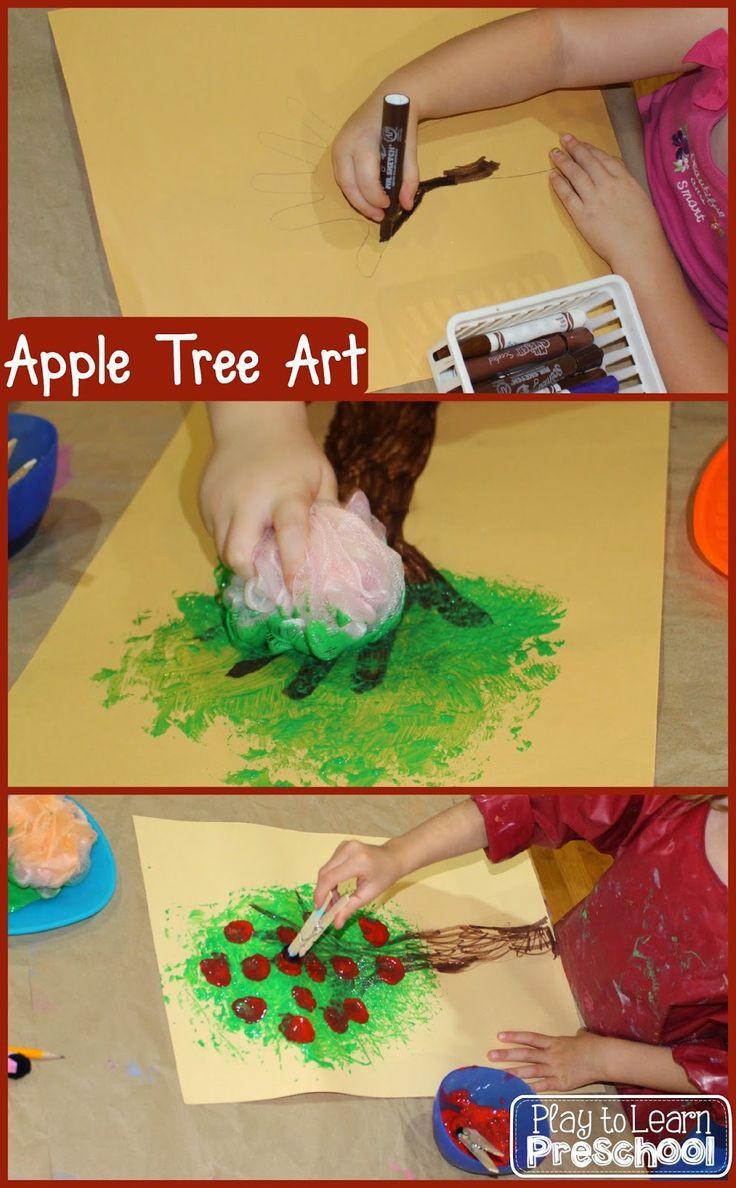 Preschool Projects Ideas  Best 25 Apple art projects ideas on Pinterest